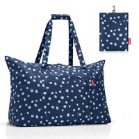 Сумка складная Mini maxi travelbag spots navy, Reisenthel